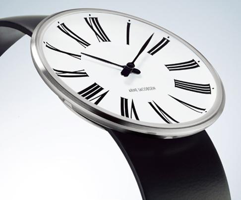 アルネ・ヤコブセン ローマン時計