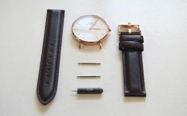 ダニエルウェリントンのベルトの付け替え | SUNDAY LIFE/時計のブログ