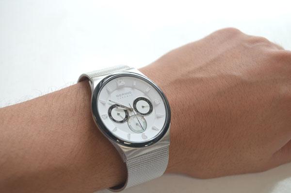 日本限定600本2015年ベーリングの腕時計 Northern Lights 33440-007 ノーザンライツ着けた