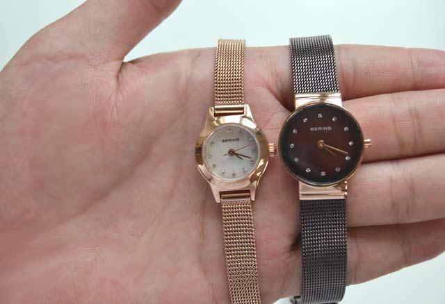 ベーリングのレディース時計の比較