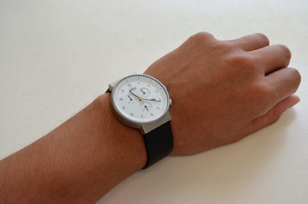 ブラウンbraunのクロノグラフ時計