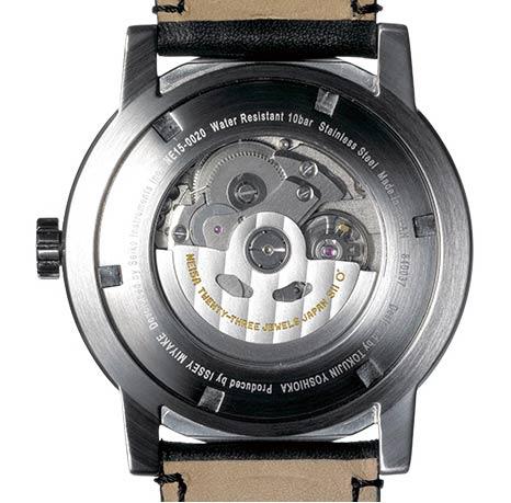 イッセイミヤケの機械式の時計