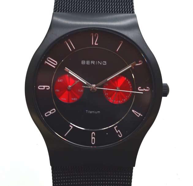 BERINGベーリングの腕時計11939の評価
