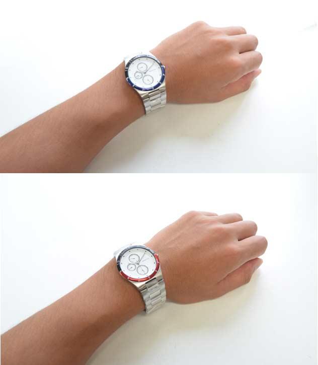 BERINGベーリングの腕時計arctic circle付け心地