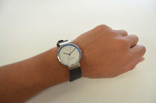 JACOB JENSEN ヤコブ イェンセンの腕時計の付け心地