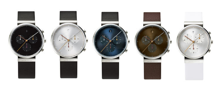 ヤコブイェンセンの腕時計クロノグラフの評価
