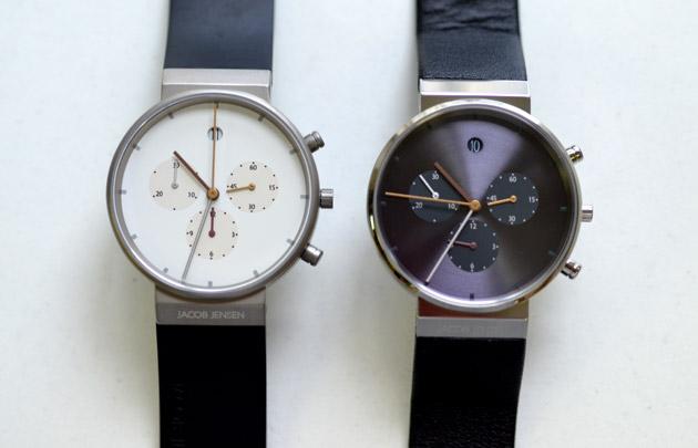 JACOB JENSENヤコブイェンセンの腕時計クロノグラフの評価