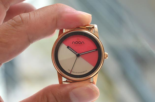 noonヌーンのレディース45-016腕時計レビュー感想