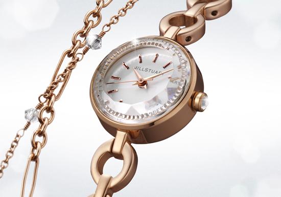 ジルスチュアートの時計ダブルブレスレット