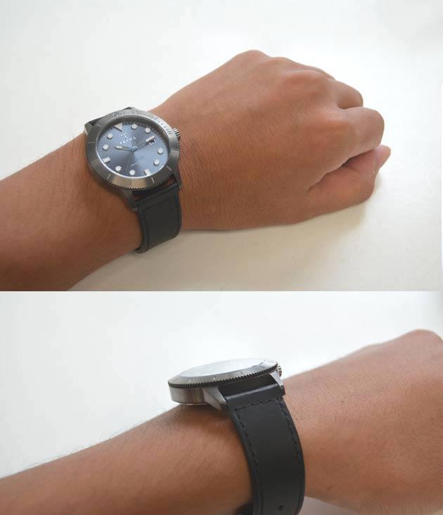 TRIWA【トリワ】の腕時計HVALEN【バーレン】の付け心地
