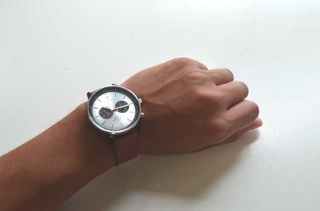 TRIWAトリワの腕時計NEVILネヴィルの付け心地