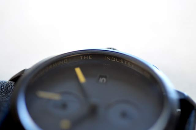 トリワの時計ブラックSort of Blackの感想