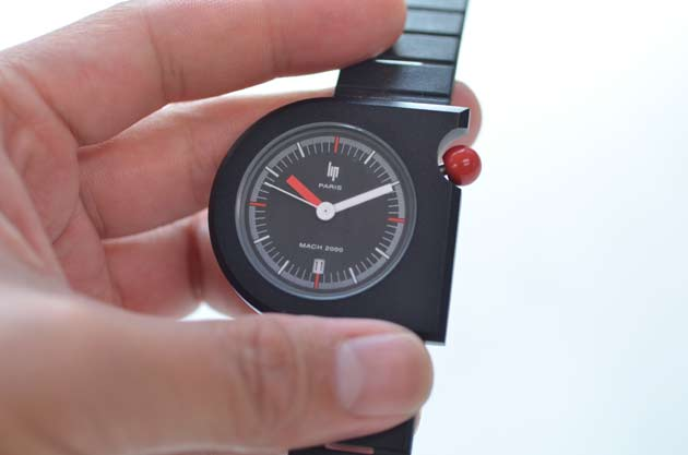 Lipリップの時計MACH 2000の感想