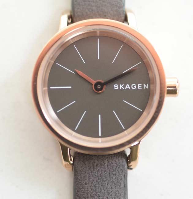 シンプルなSKAGENスカーゲンのレディース時計SKW2359