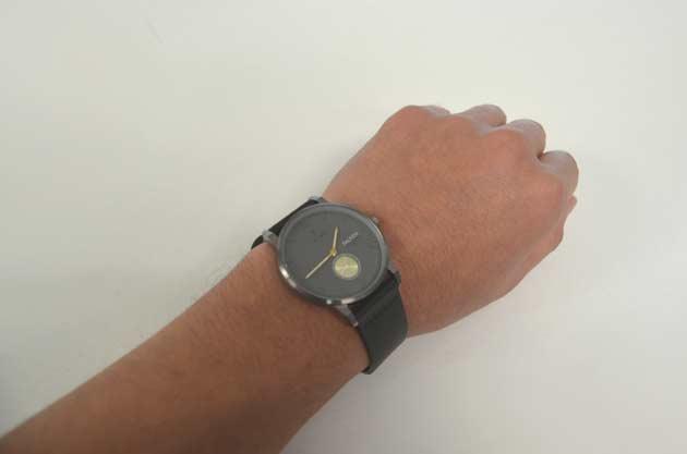 トリワの時計ブラック