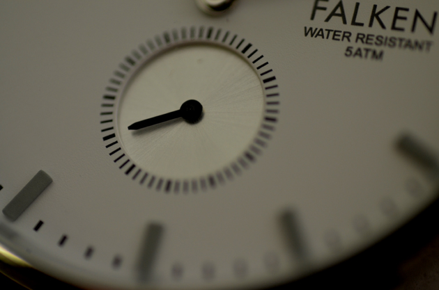 トリワTRIWAの時計FALKENファルケンのスモールセカンド