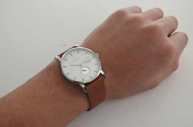 トリワTRIWAの時計FALKENファルケンの付け心地
