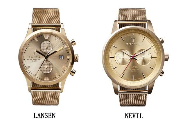トリワTRIWAの時計NEVILとLANSEN