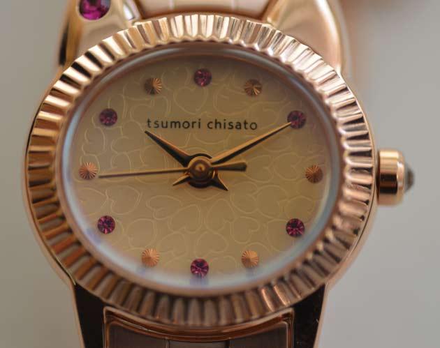 こまねきねこ、ツモリチサトの時計。猫の時計