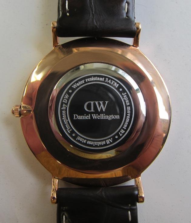 ダニエルウェリントンの時計電池交換