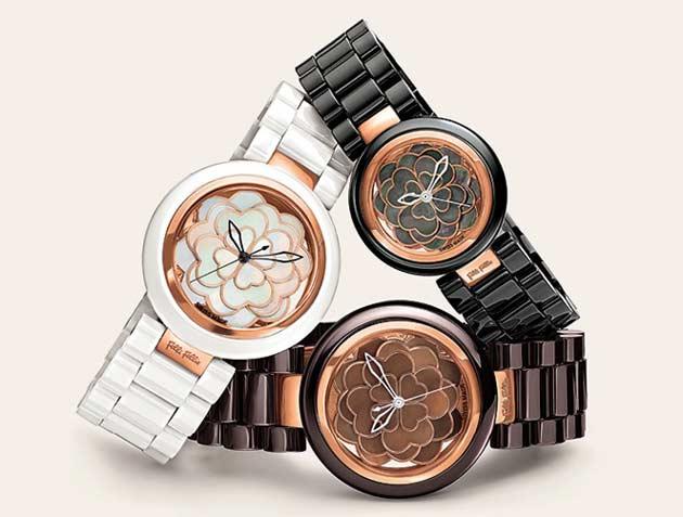 フォリフォリお勧めの時計サントリーニフラワーウォッチ