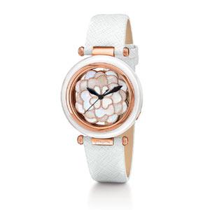 フォリフォリの人気、白の時計
