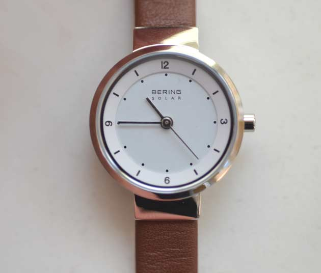 ベーリングのレディースお勧めソーラー電池時計スカンジナビアンソーラーミニ