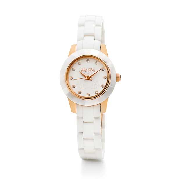 フォリフォリの時計おすすめ、セラミック、ピンクゴールド