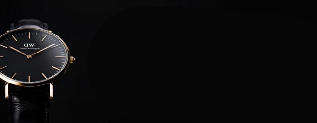 ダニエルウェリントン、新作ブラッククラシック
