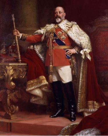 イギリス国王のエドワード7世