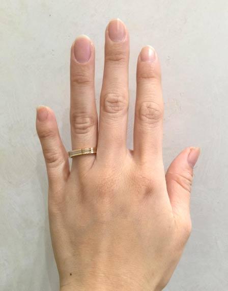 カルティエ 結婚指輪 スリーゴールドウエディングリング(18金イエローゴールド、18金ホワイトゴールド、 18金ピンクゴールド)