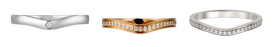 カルティエ 結婚指輪 バレリーナカーブ
