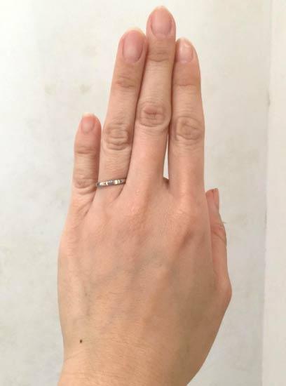 カルティエ 結婚指輪 ダムール