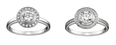 カルティエ 婚約指輪 ダムール