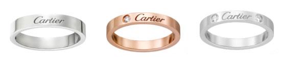 カルティエの結婚指輪、人気で評判なペアはどれ?