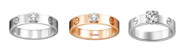カルティエ 婚約指輪 LOVE