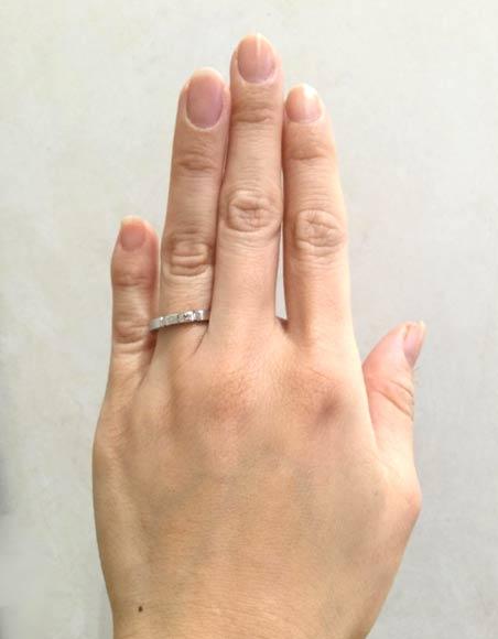 カルティエ 結婚指輪 マイヨンパンテール(18金ホワイトゴールド)