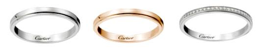 カルティエ 結婚指輪 ダ・ムール