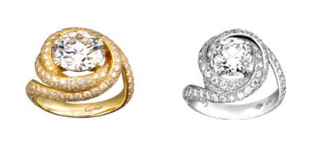 カルティエ 結婚指輪 トリニティリュバン