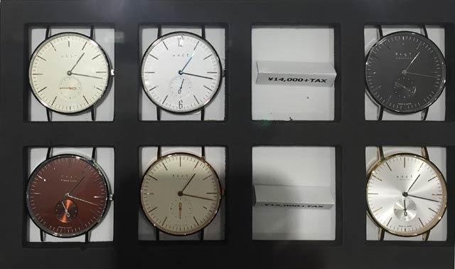 knotノットの時計 スモールセコンド
