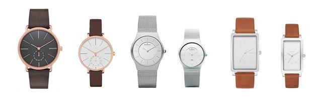 スカーゲンの時計ペアウォッチで人気な物や評価は?