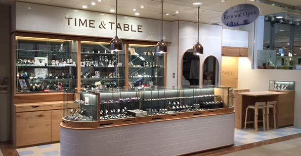 コモノの時計を東京で取り扱ってる店舗