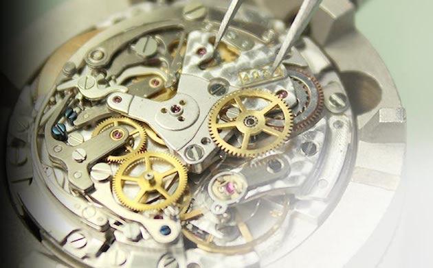大阪の時計のオーバーホール