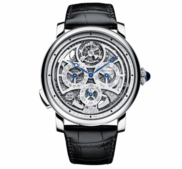 ロトンド ドゥ カルティエ グランドコンプリケーション ウォッチ マニュファクチュール 5年間かけて製作 複雑時計