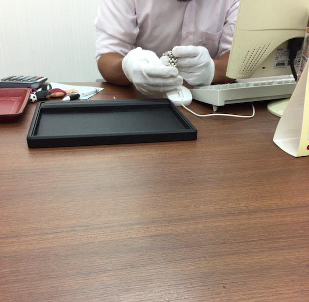 銀蔵でオメガ時計の査定