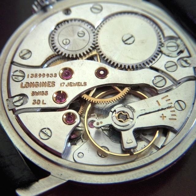 ロンジンの時計オーバーホール