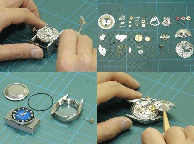 神戸で時計のオーバーホールや修理ができる時計店