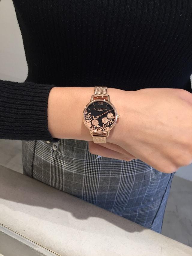 オリビアバートンの花柄のなかで人気の時計はどれ??