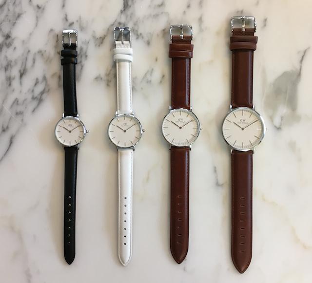 時計のサイズの見比べ