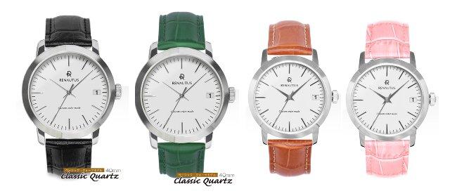 ルノータスの時計イタリアンレザーベルト